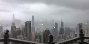 Тайфун Мангхут ударил по Макао
